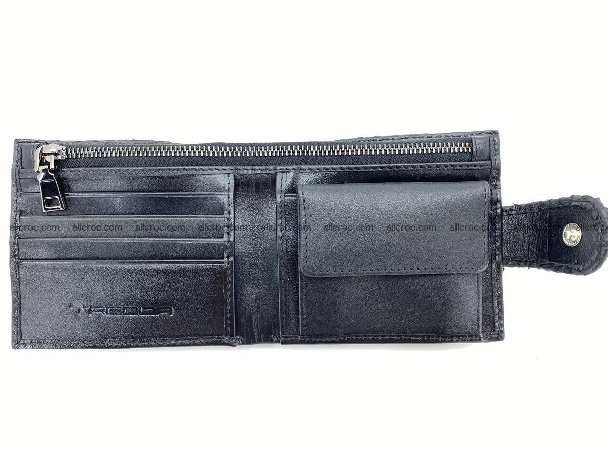 Python skin bifold wallet with coins pocket 881 Foto 10