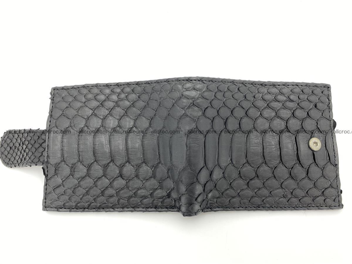 Python skin bifold wallet with coins pocket 881 Foto 8