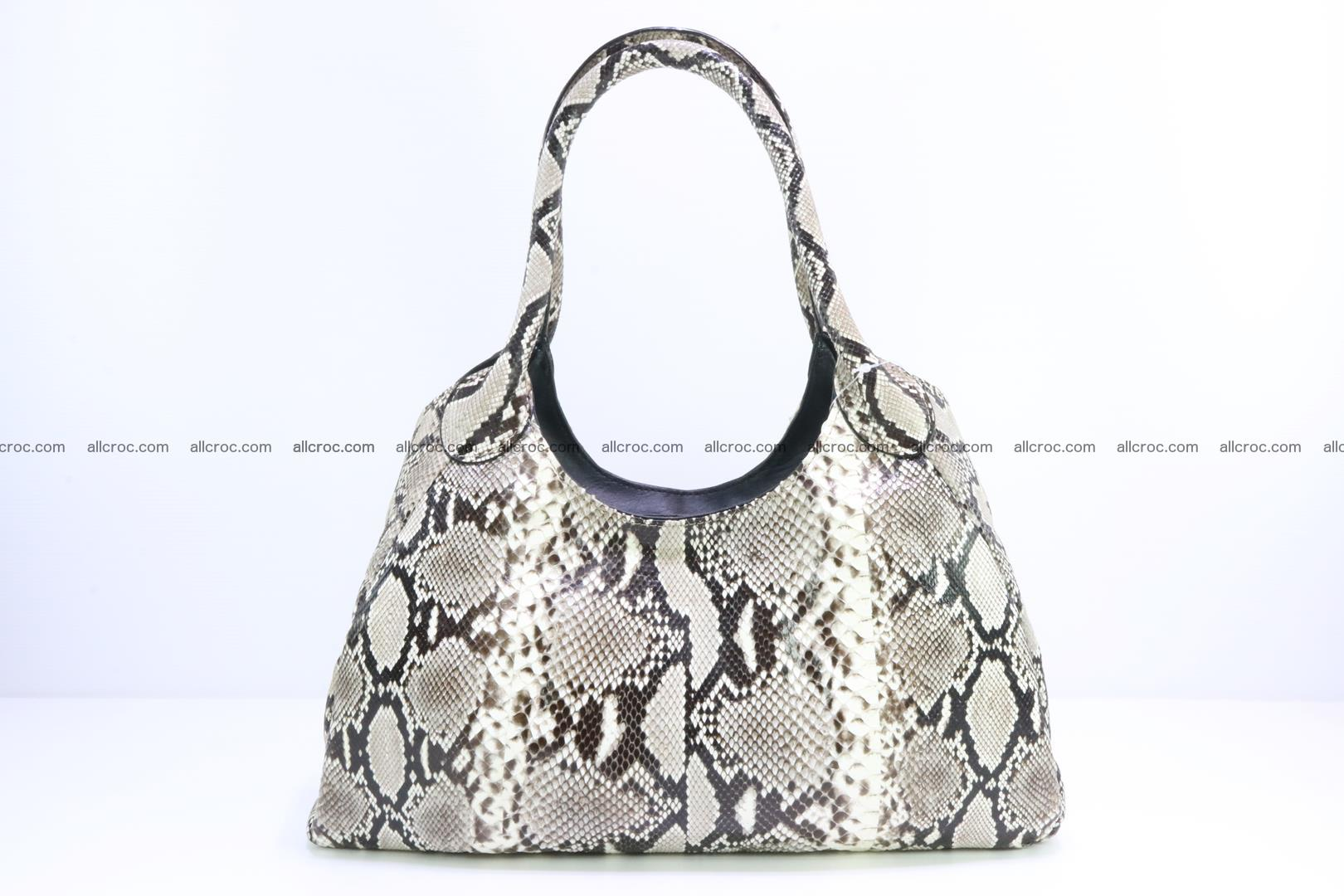 Python skin handbag for lady from genuine Python skin 196 Foto 0