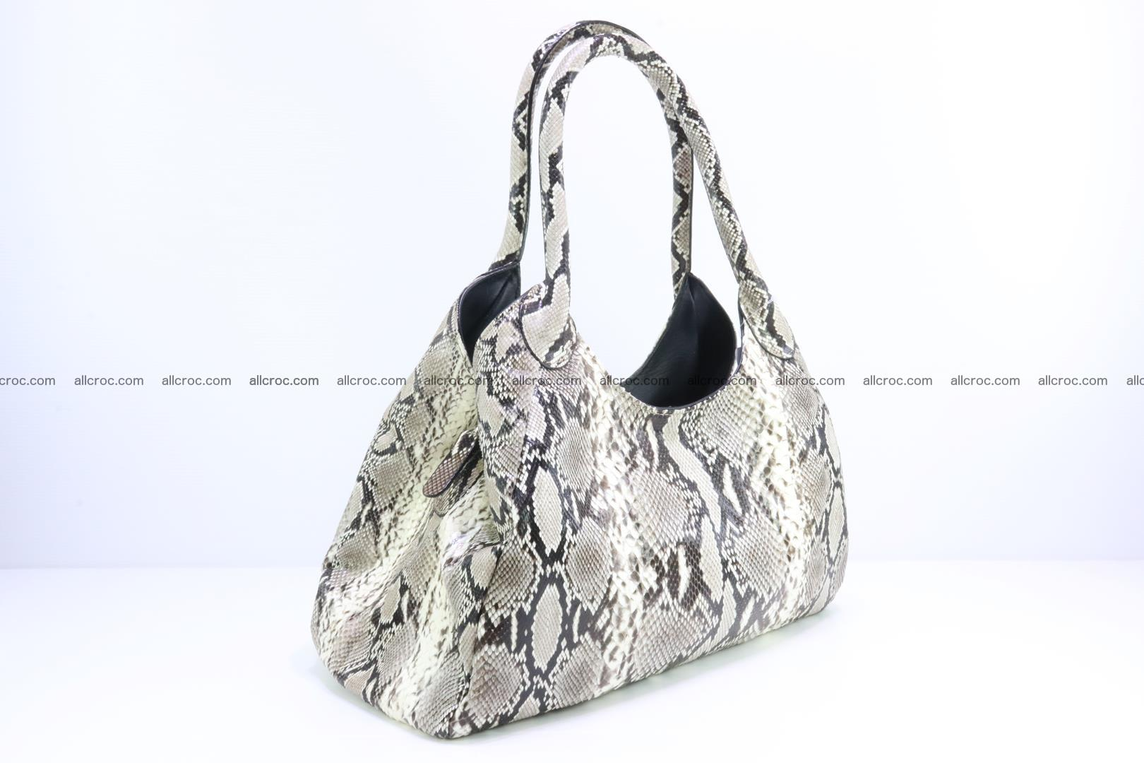 Python skin handbag for lady from genuine Python skin 196 Foto 1