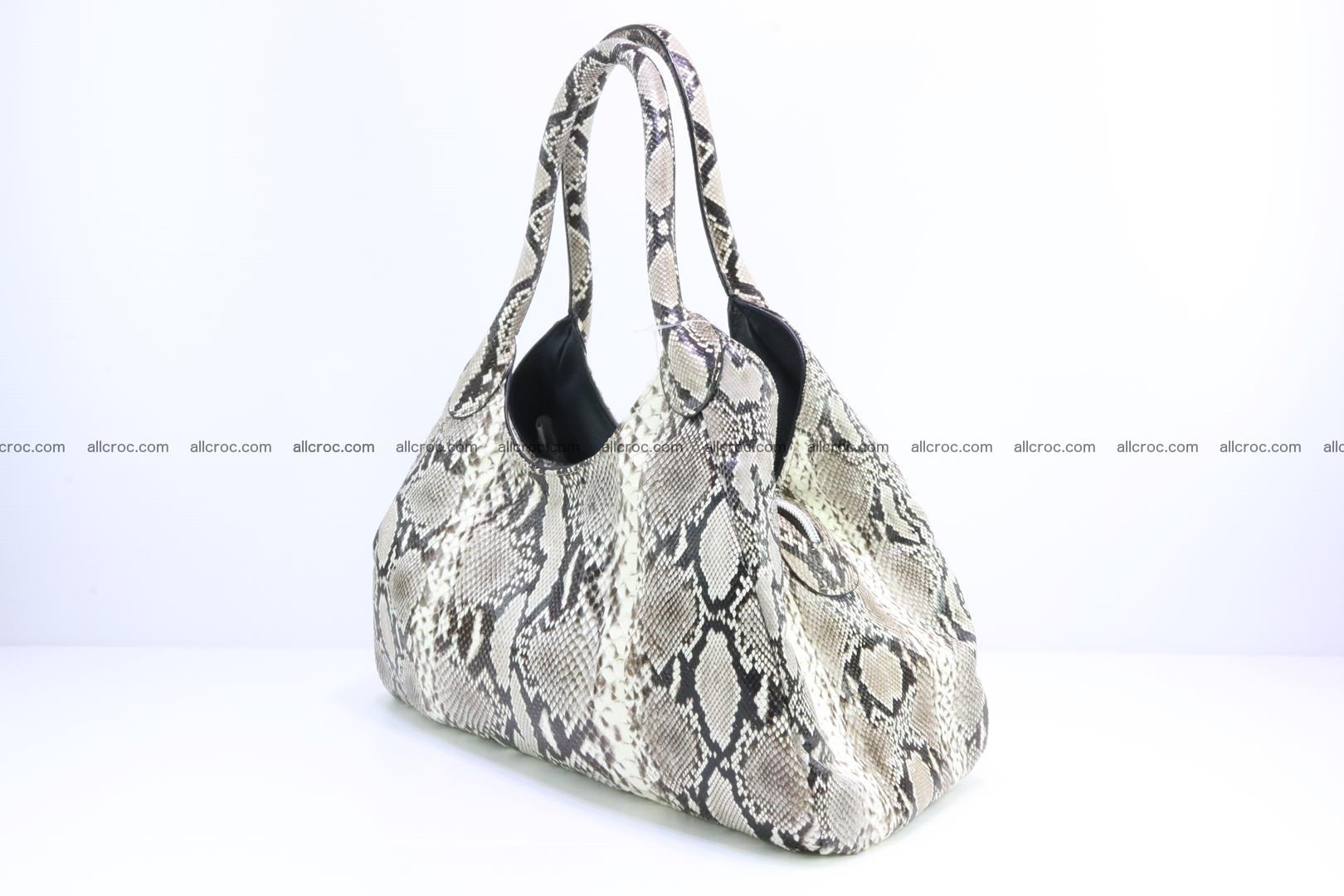 Python skin handbag for lady from genuine Python skin 196 Foto 2