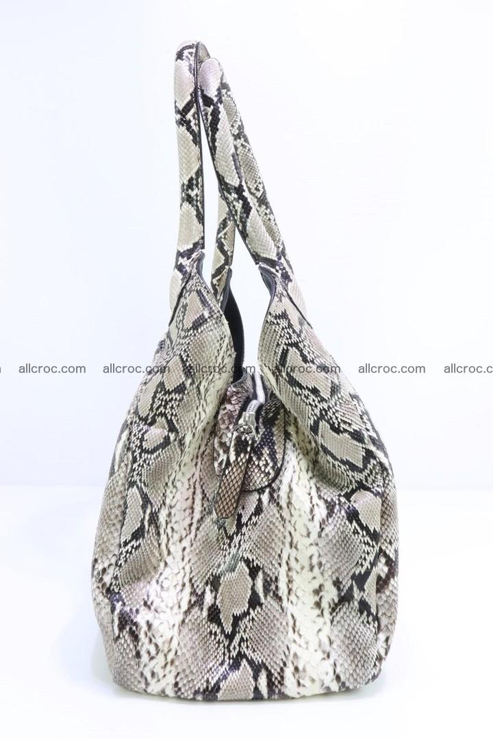 Python skin handbag for lady from genuine Python skin 196 Foto 4