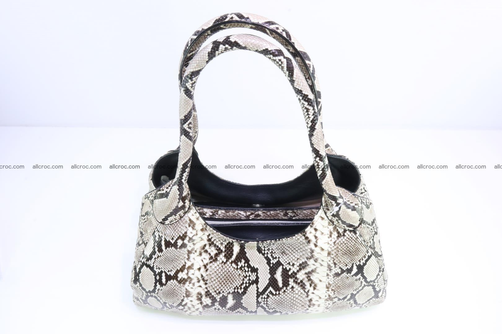 Python skin handbag for lady from genuine Python skin 196 Foto 3
