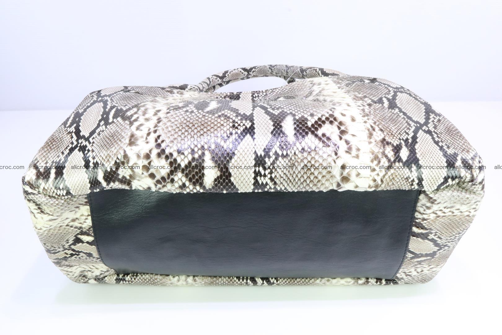 Python skin handbag for lady from genuine Python skin 196 Foto 5