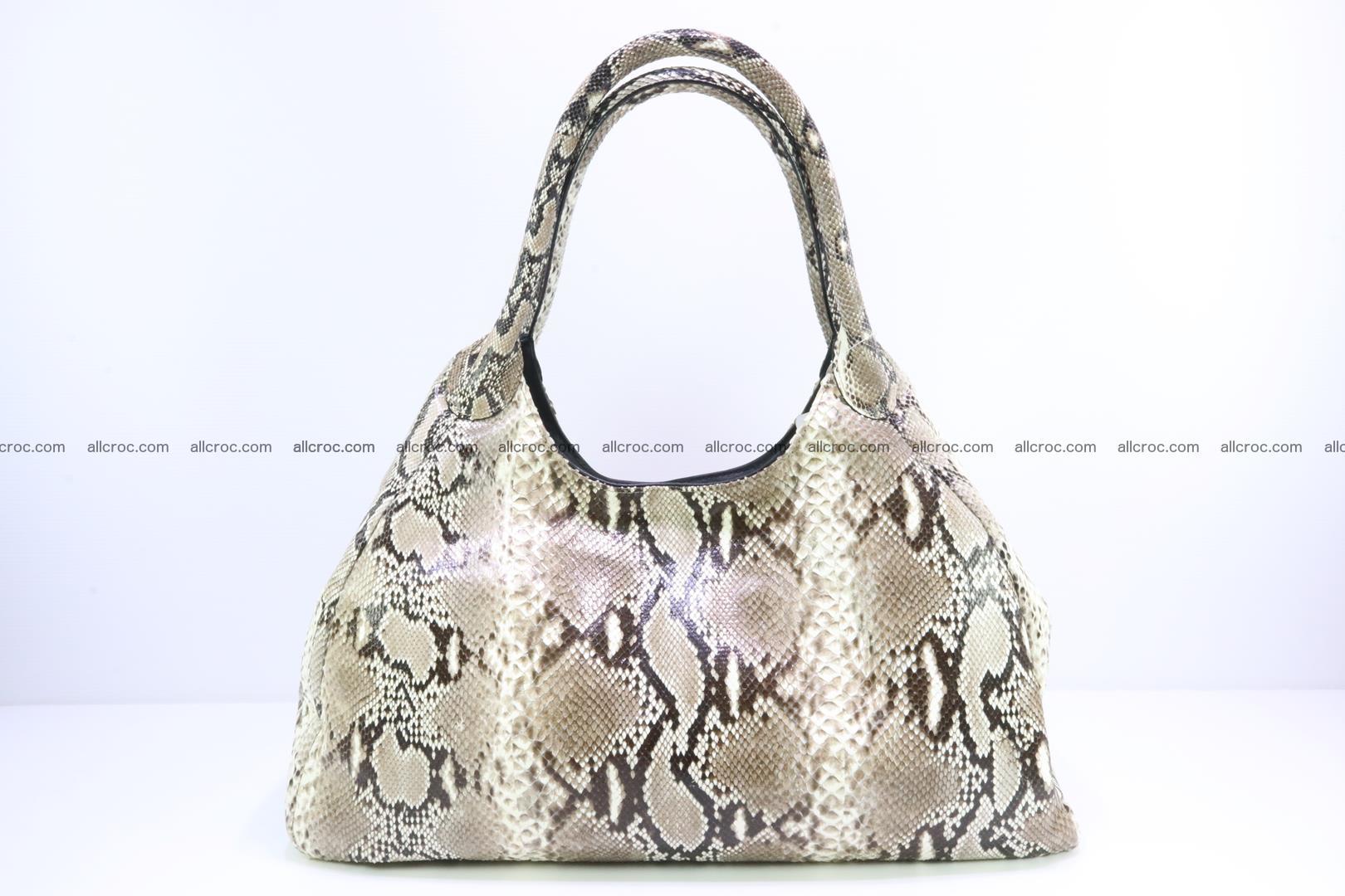 Python skin handbag for lady from genuine Python skin 197 Foto 0