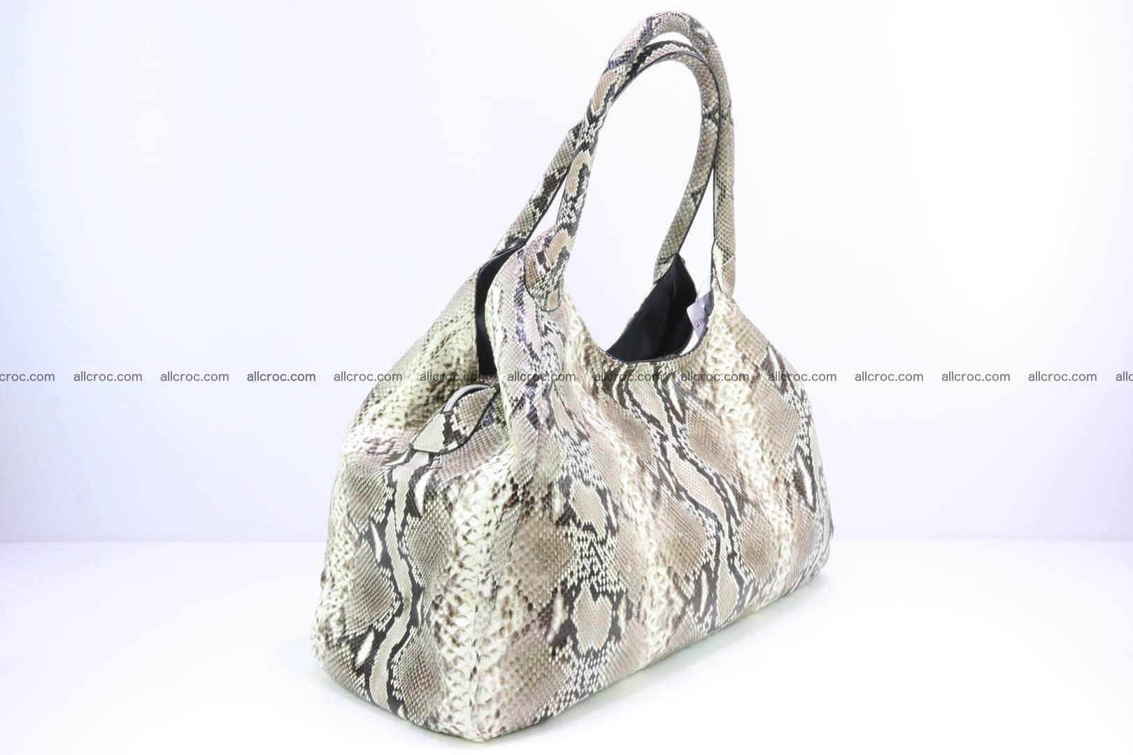 Python skin handbag for lady from genuine Python skin 197 Foto 1