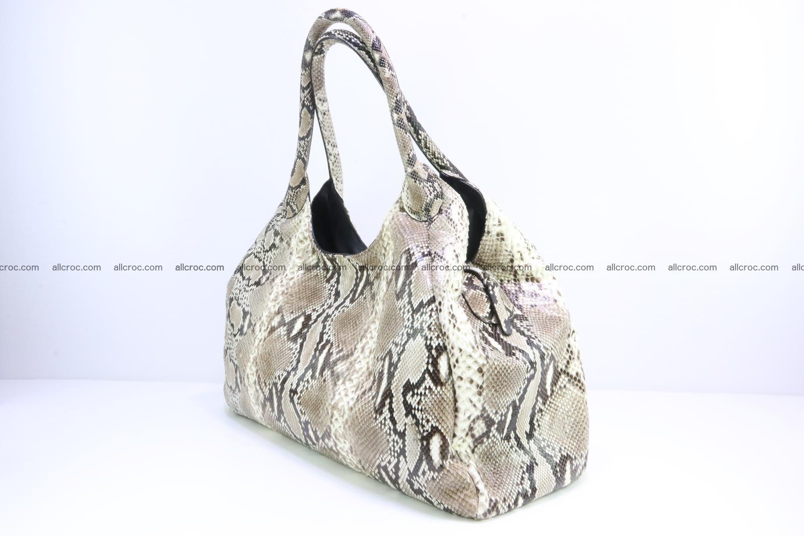 Python skin handbag for lady from genuine Python skin 197 Foto 2