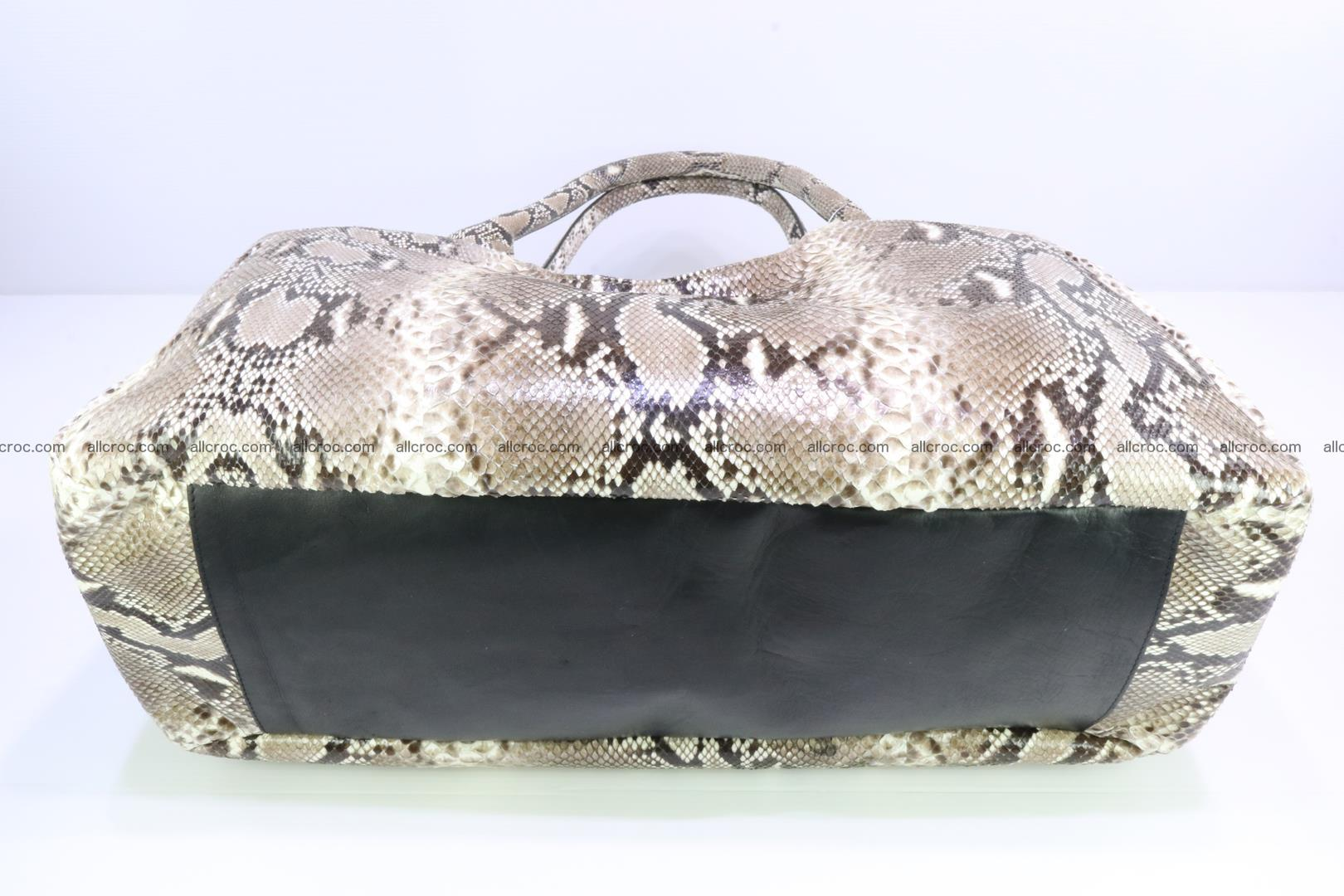 Python skin handbag for lady from genuine Python skin 197 Foto 5