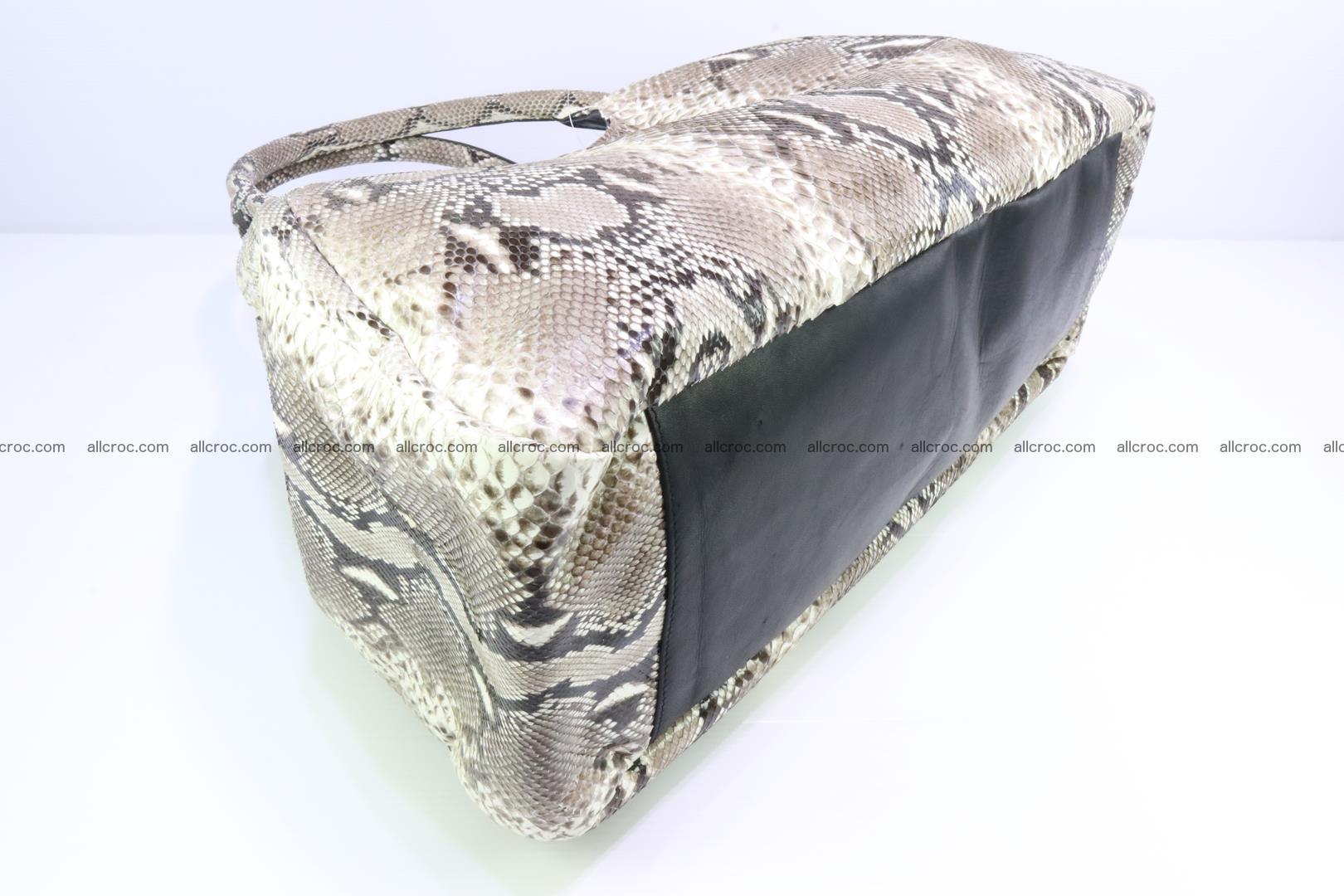 Python skin handbag for lady from genuine Python skin 197 Foto 6
