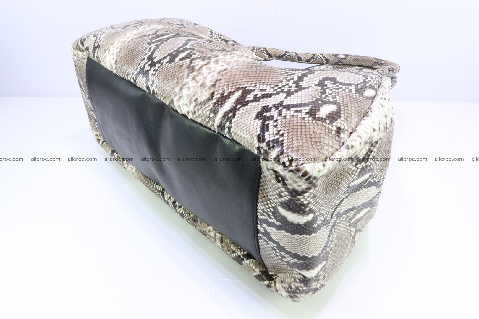 Python skin handbag for lady from genuine Python skin 197 Foto 7