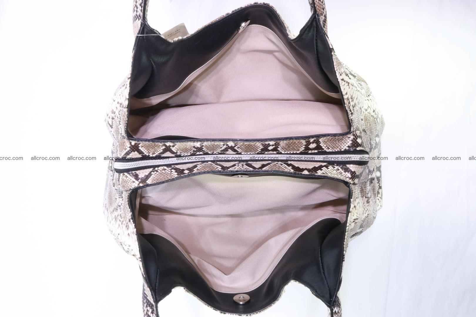 Python skin handbag for lady from genuine Python skin 197 Foto 8