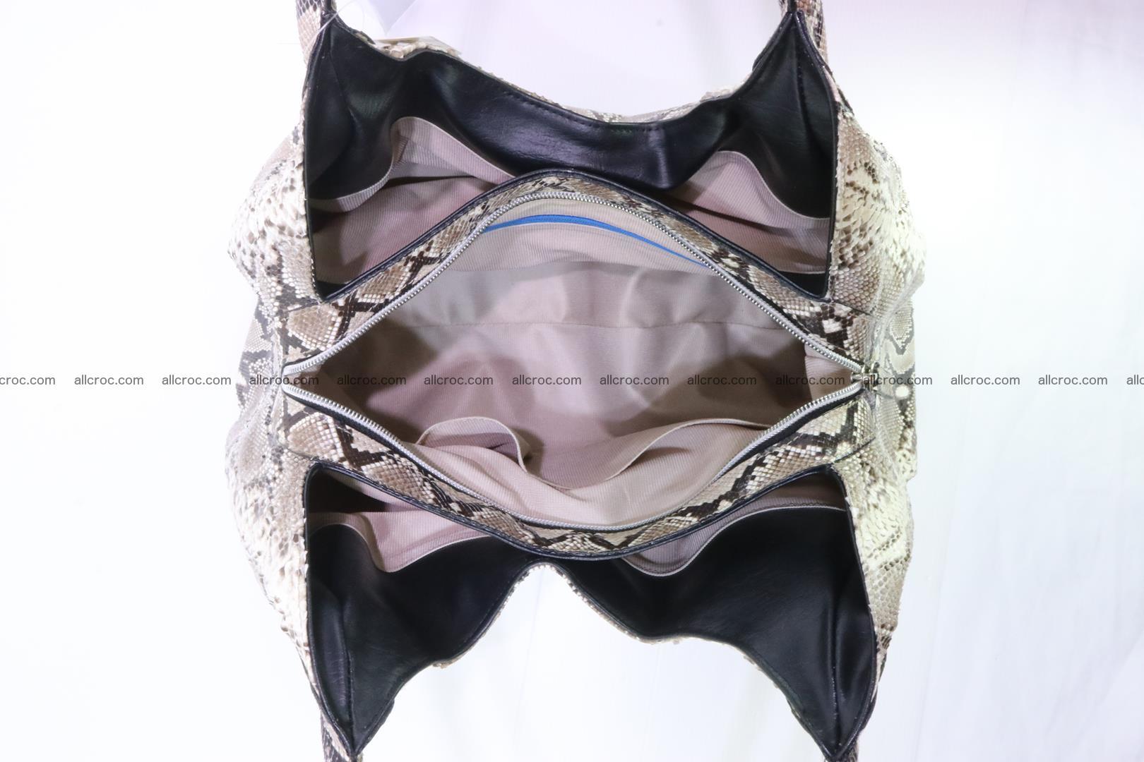 Python skin handbag for lady from genuine Python skin 197 Foto 9