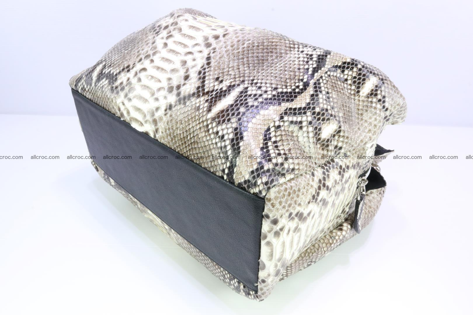 Python skin handbag for lady from genuine Python skin 198 Foto 7