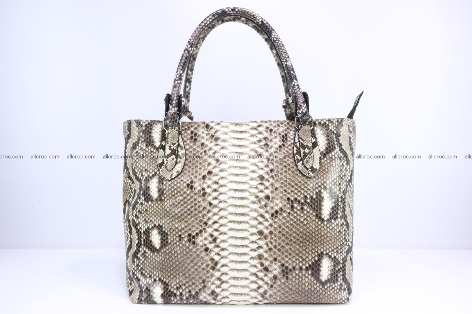 Python skin handbag for lady from genuine Python skin 205 Foto 0