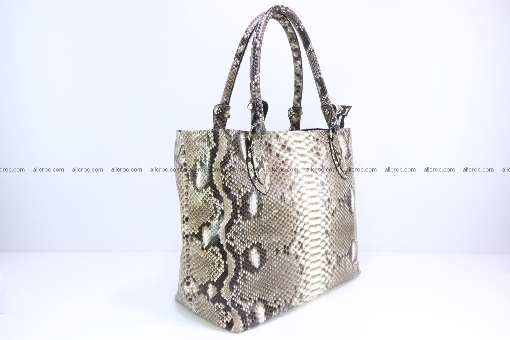 Python skin handbag for lady from genuine Python skin 205 Foto 1