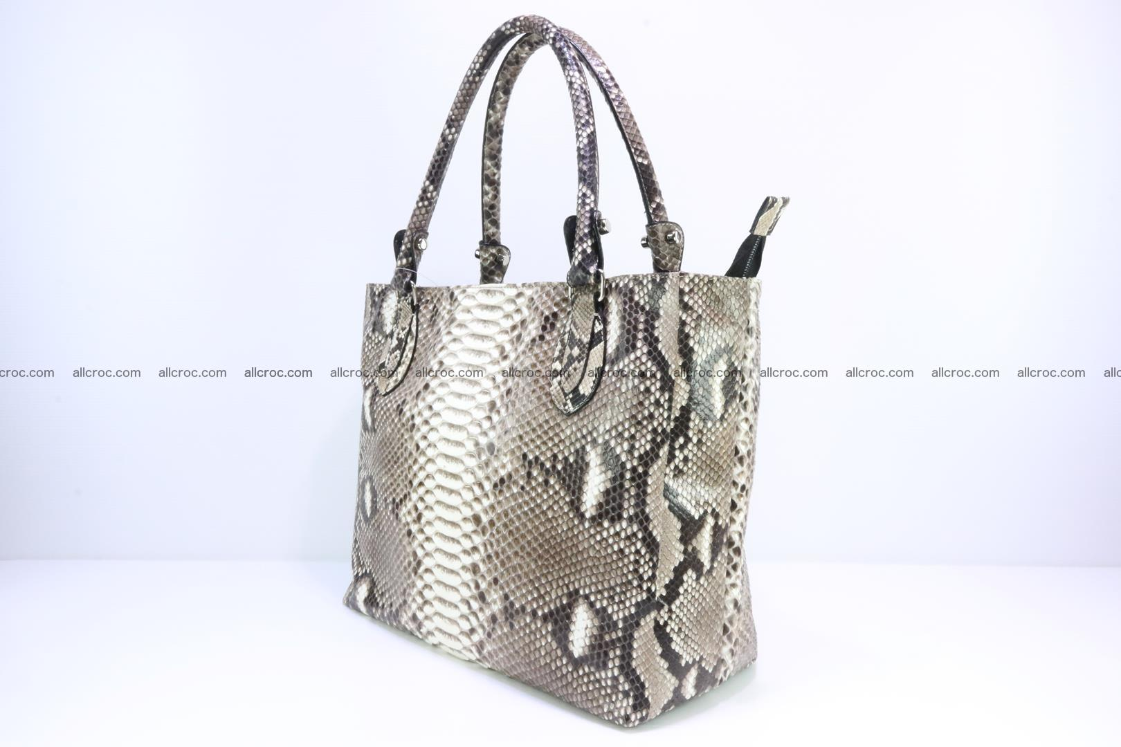 Python skin handbag for lady from genuine Python skin 205 Foto 2