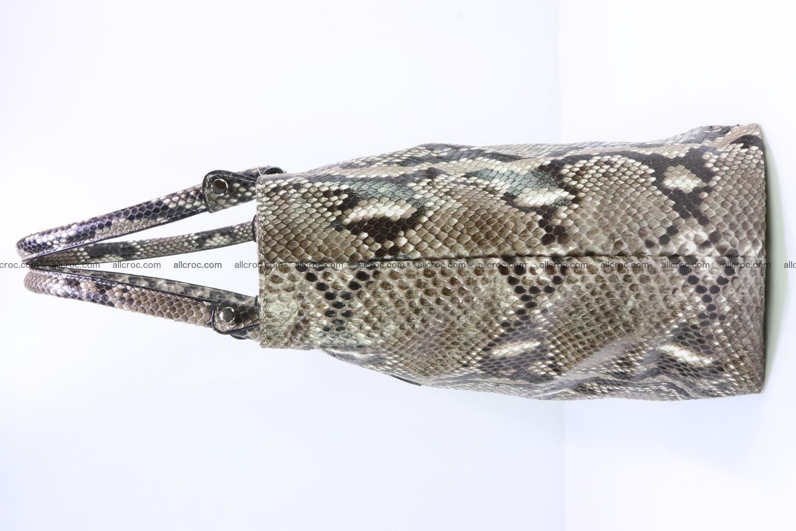 Python skin handbag for lady from genuine Python skin 205 Foto 3