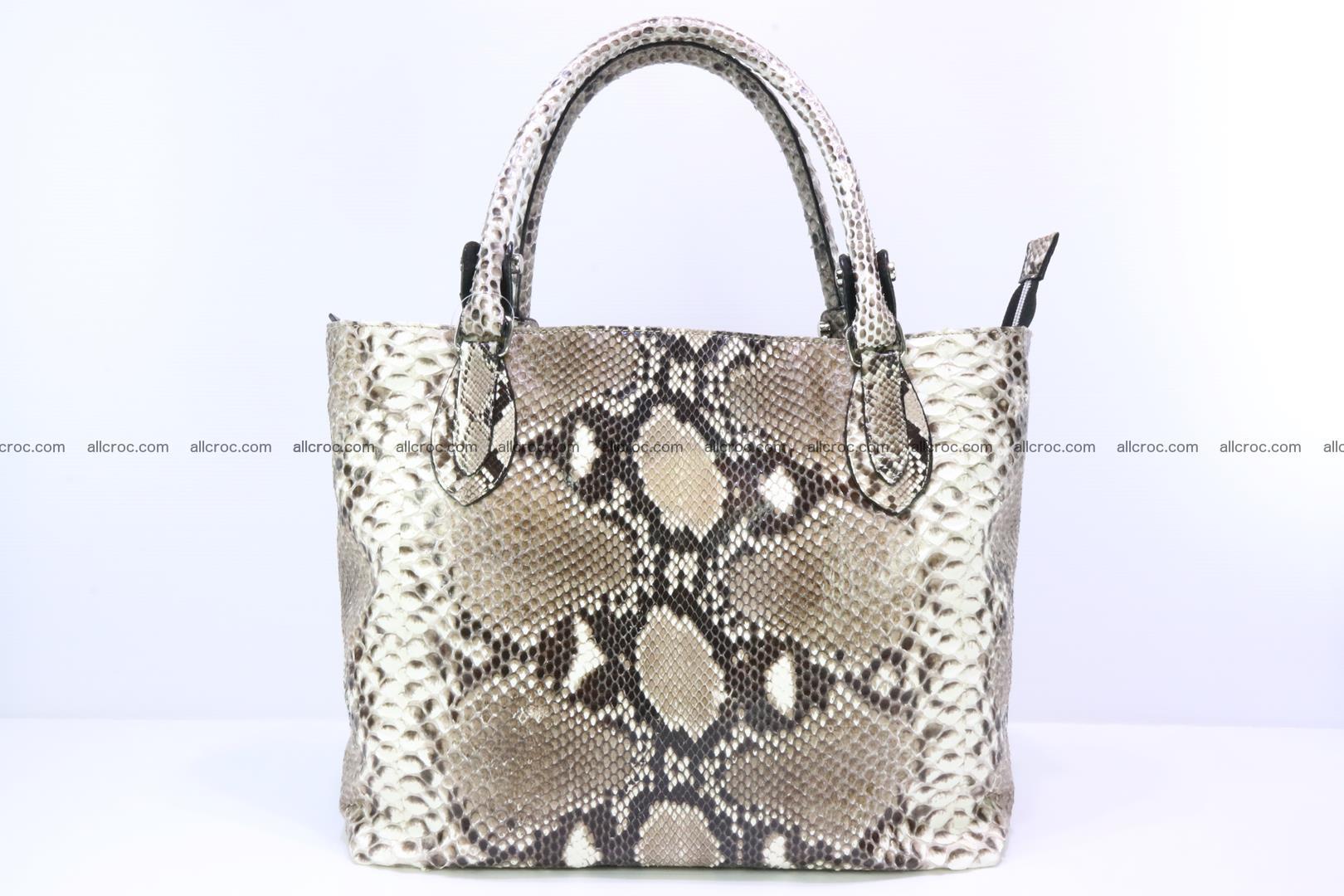 Python skin handbag for lady from genuine Python skin 206 Foto 0