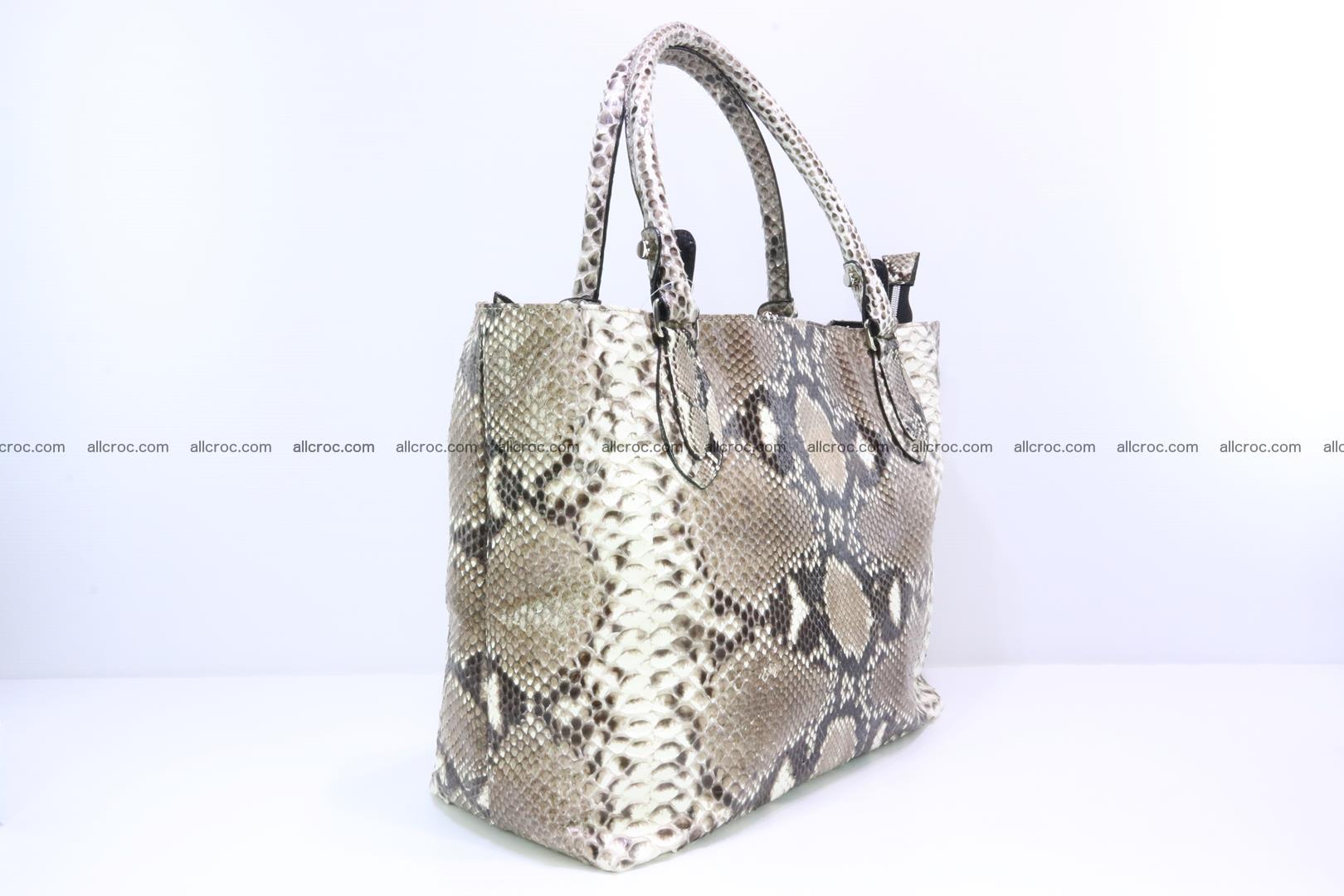 Python skin handbag for lady from genuine Python skin 206 Foto 1