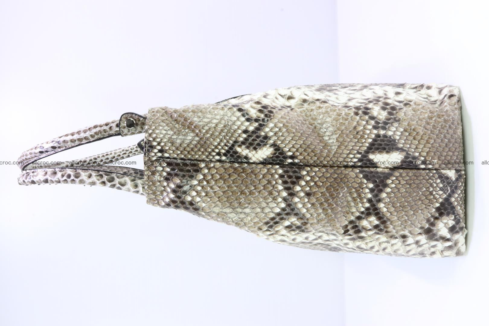Python skin handbag for lady from genuine Python skin 206 Foto 3