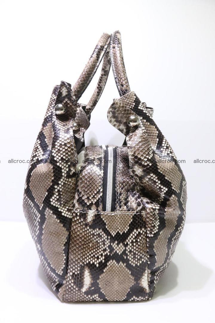 Python skin handbag for lady from genuine Python skin 202 Foto 5