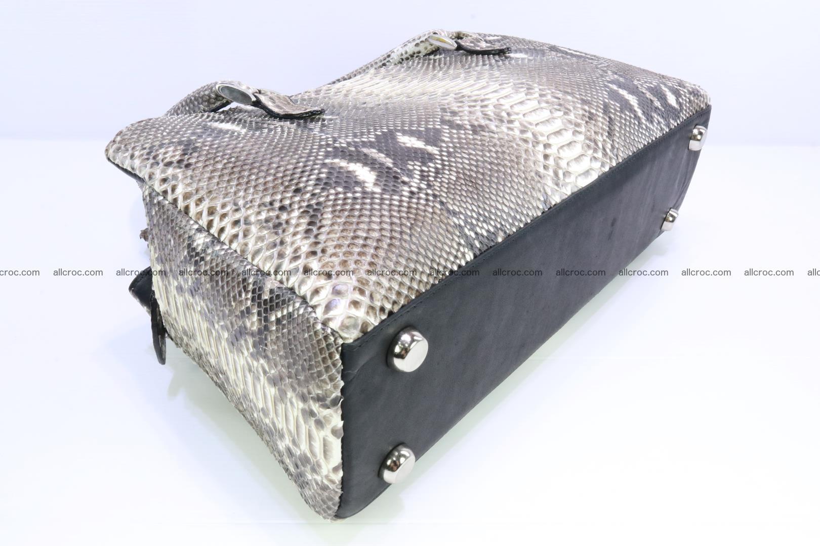 Python skin ladies handbag 221 Foto 7