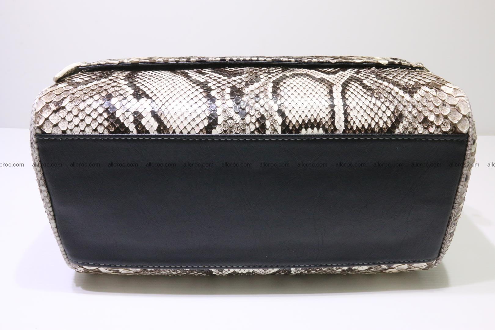 Python skin ladies handbag 220 Foto 7