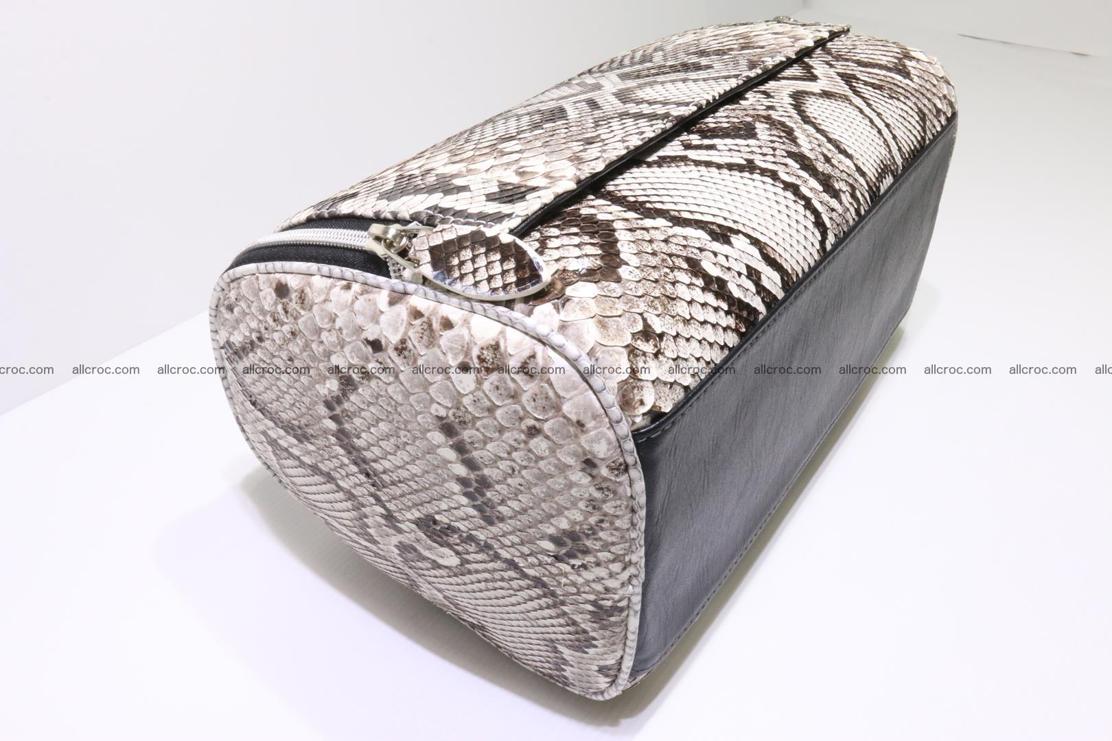 Python skin ladies handbag 220 Foto 8