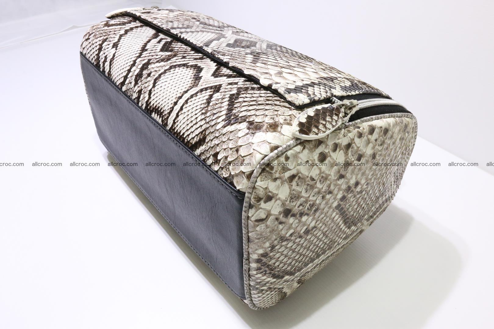 Python skin ladies handbag 220 Foto 9