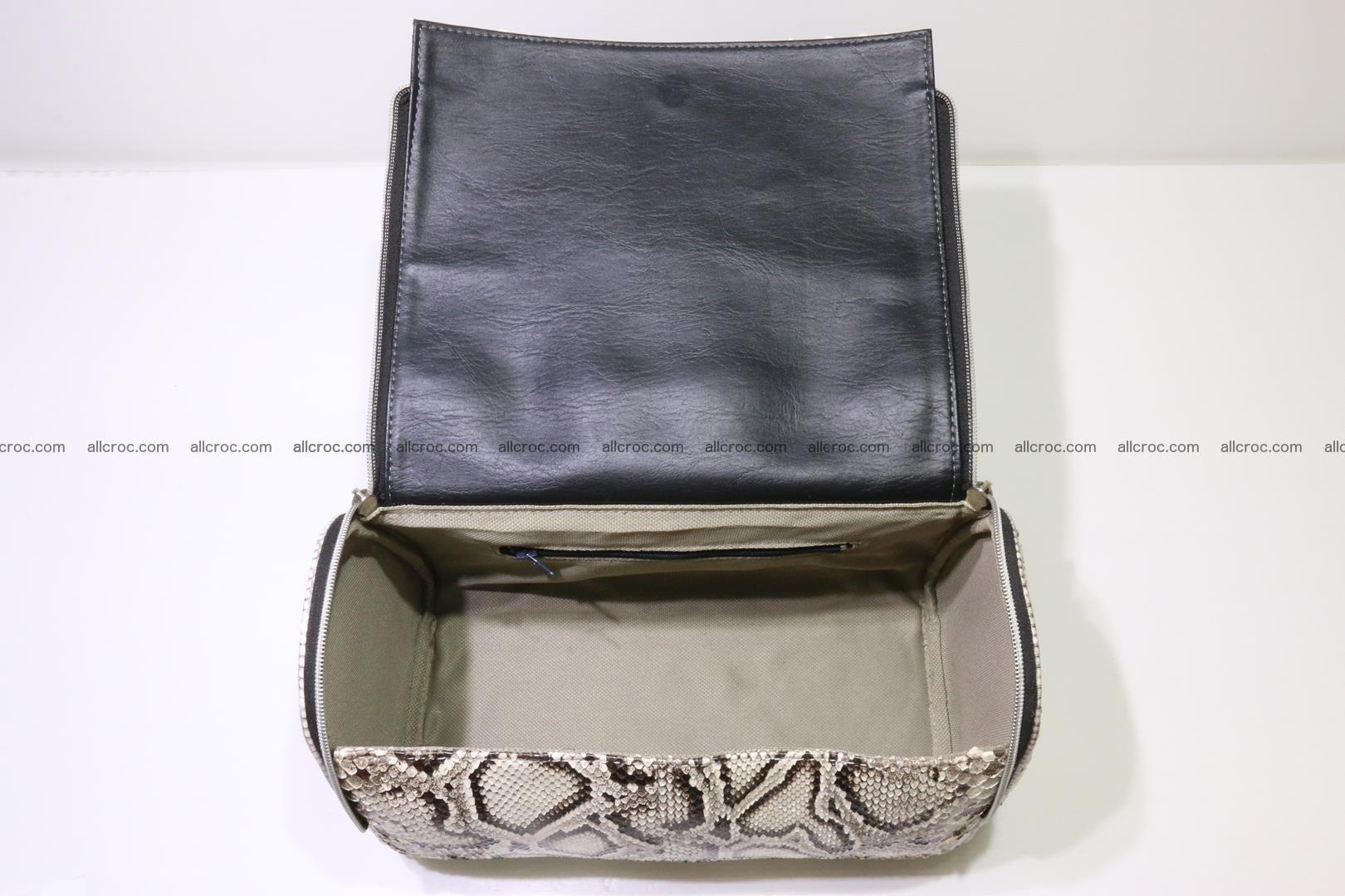 Python skin ladies handbag 220 Foto 10