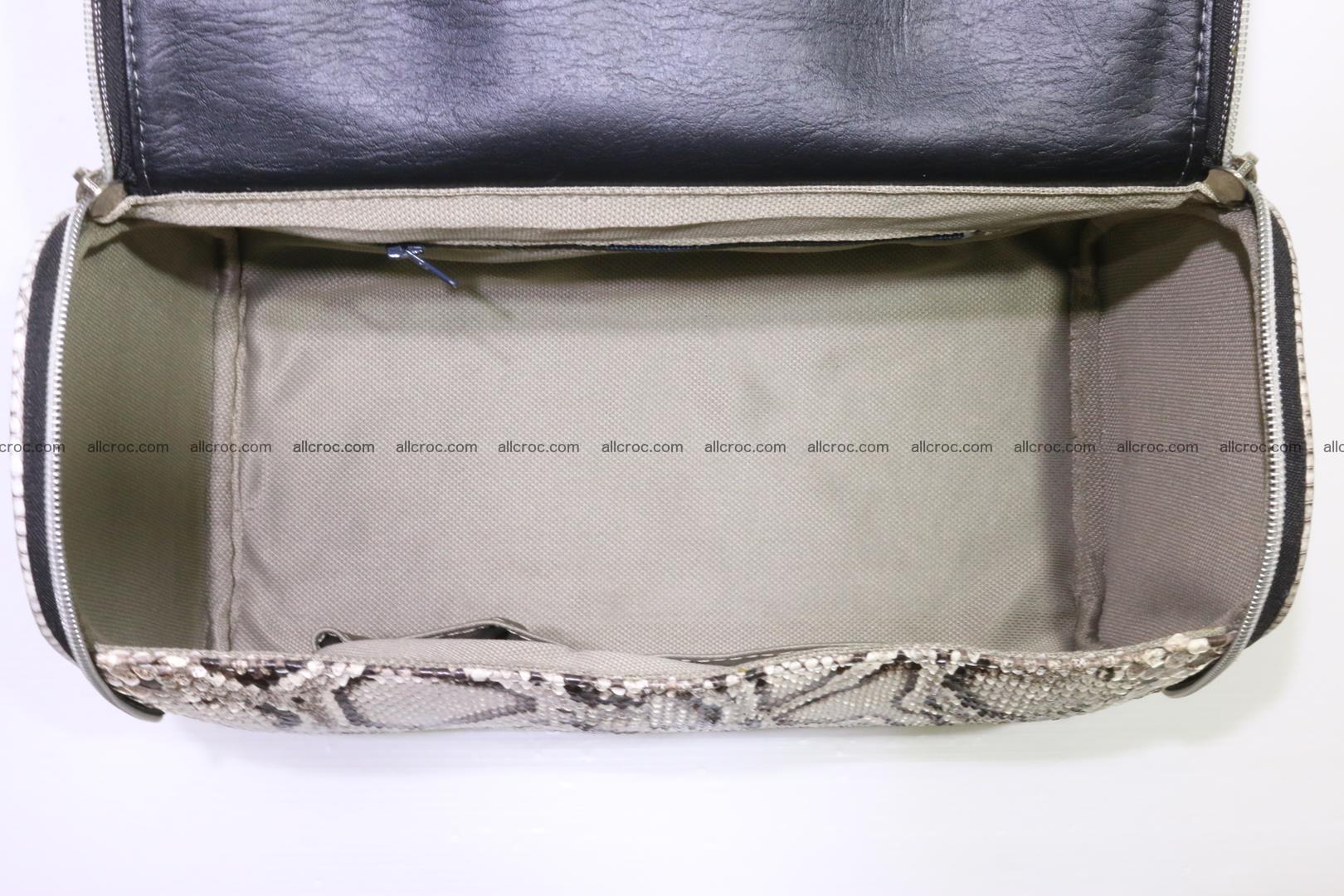 Python skin ladies handbag 220 Foto 11