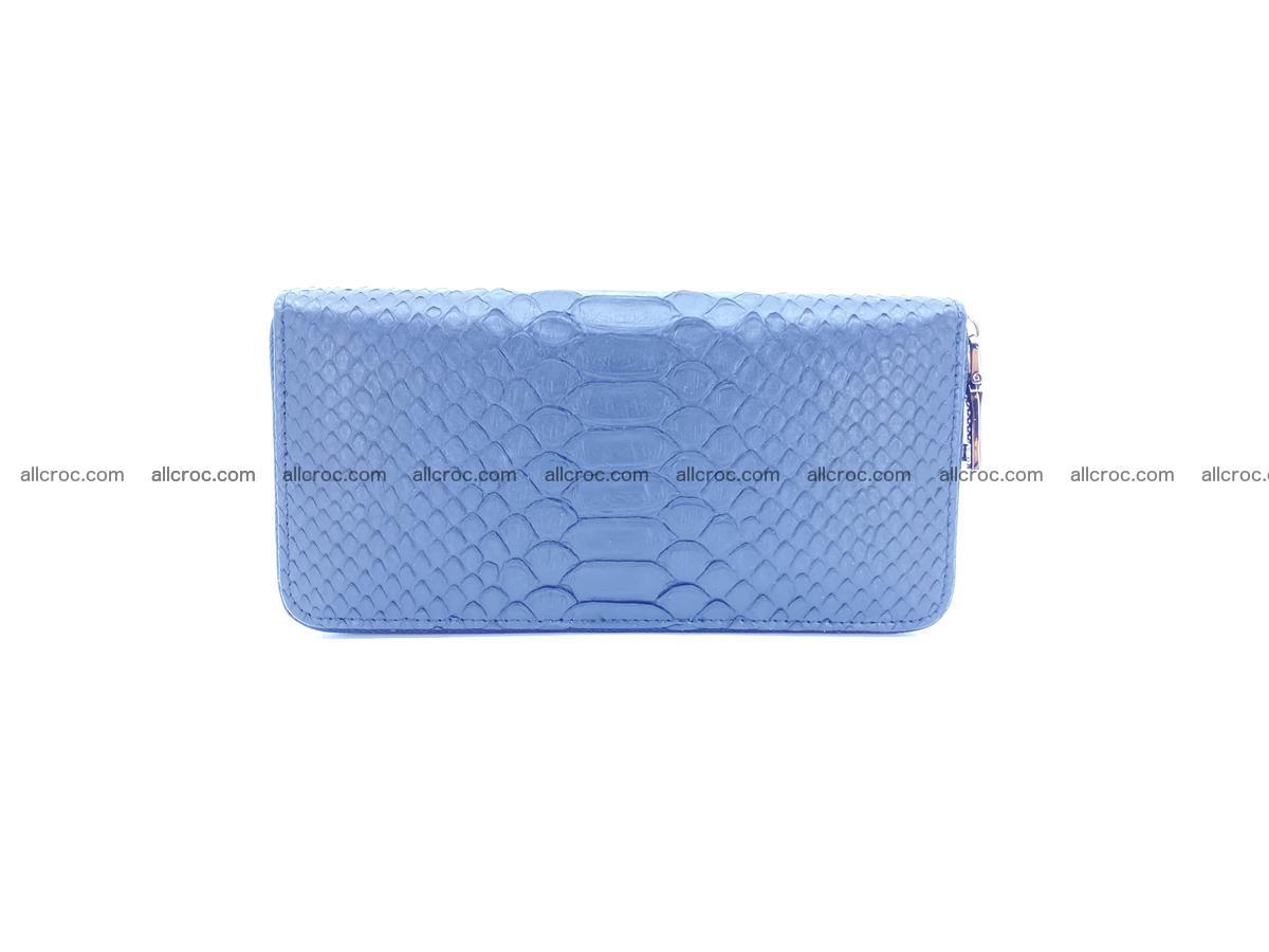 Python skin wallet with zip 882 Foto 2