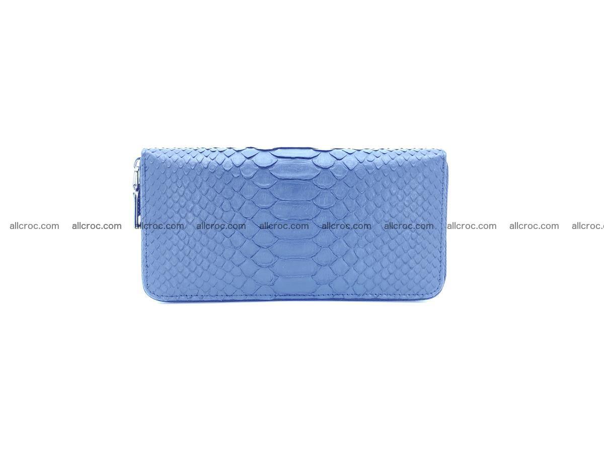 Python skin wallet with zip 882 Foto 3