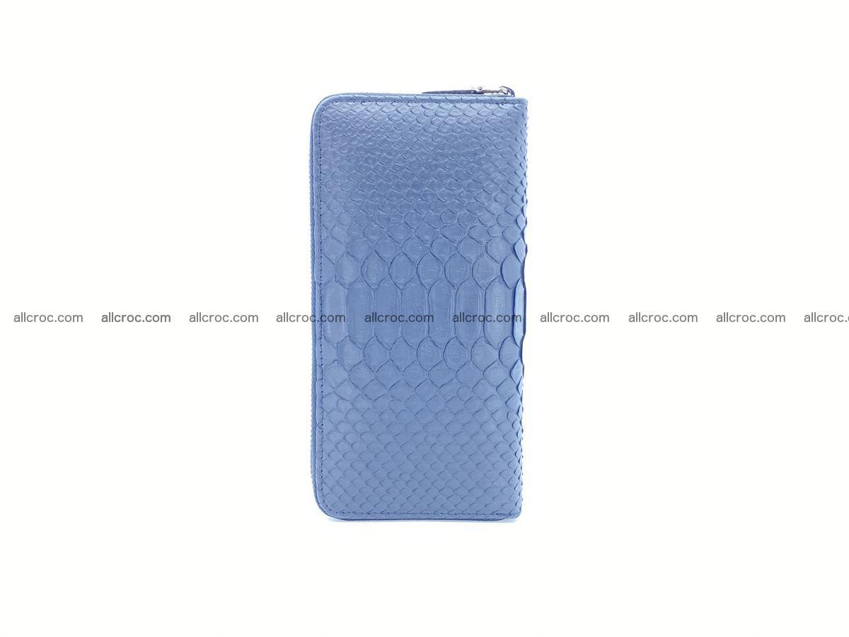 Python skin wallet with zip 882 Foto 4