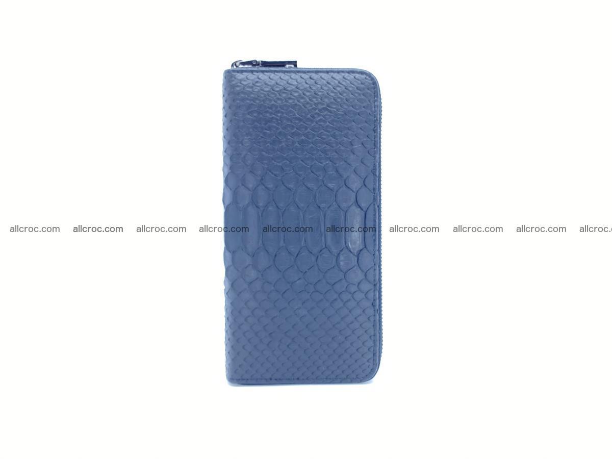 Python skin wallet with zip 882 Foto 5