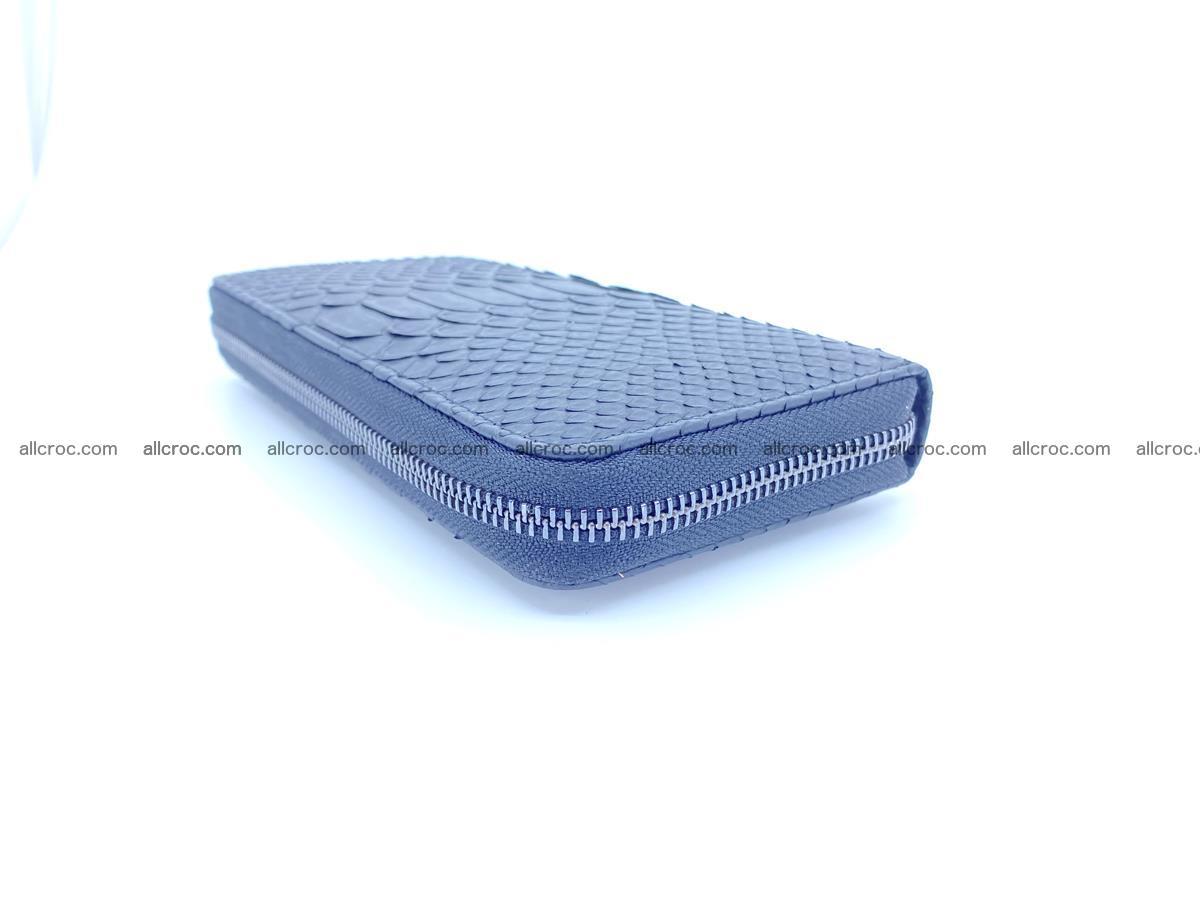 Python skin wallet with zip 882 Foto 1