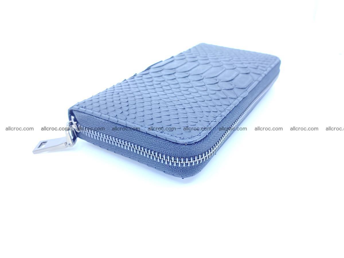 Python skin wallet with zip 882 Foto 0