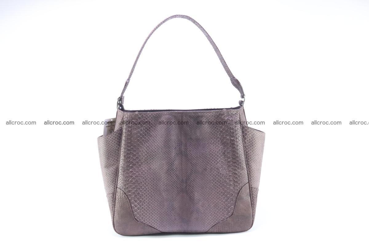 Python skin women handbag 261 Foto 0