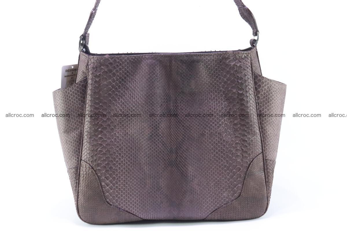Python skin women handbag 261 Foto 1