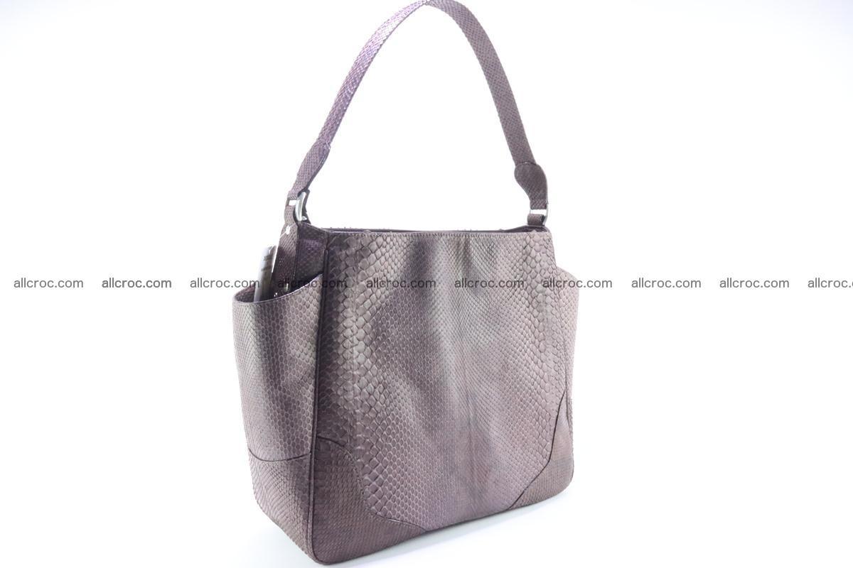 Python skin women handbag 261 Foto 4