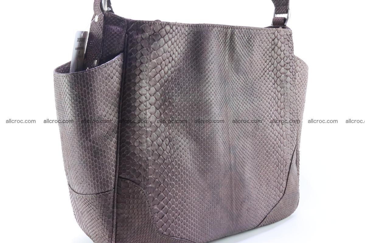 Python skin women handbag 261 Foto 2