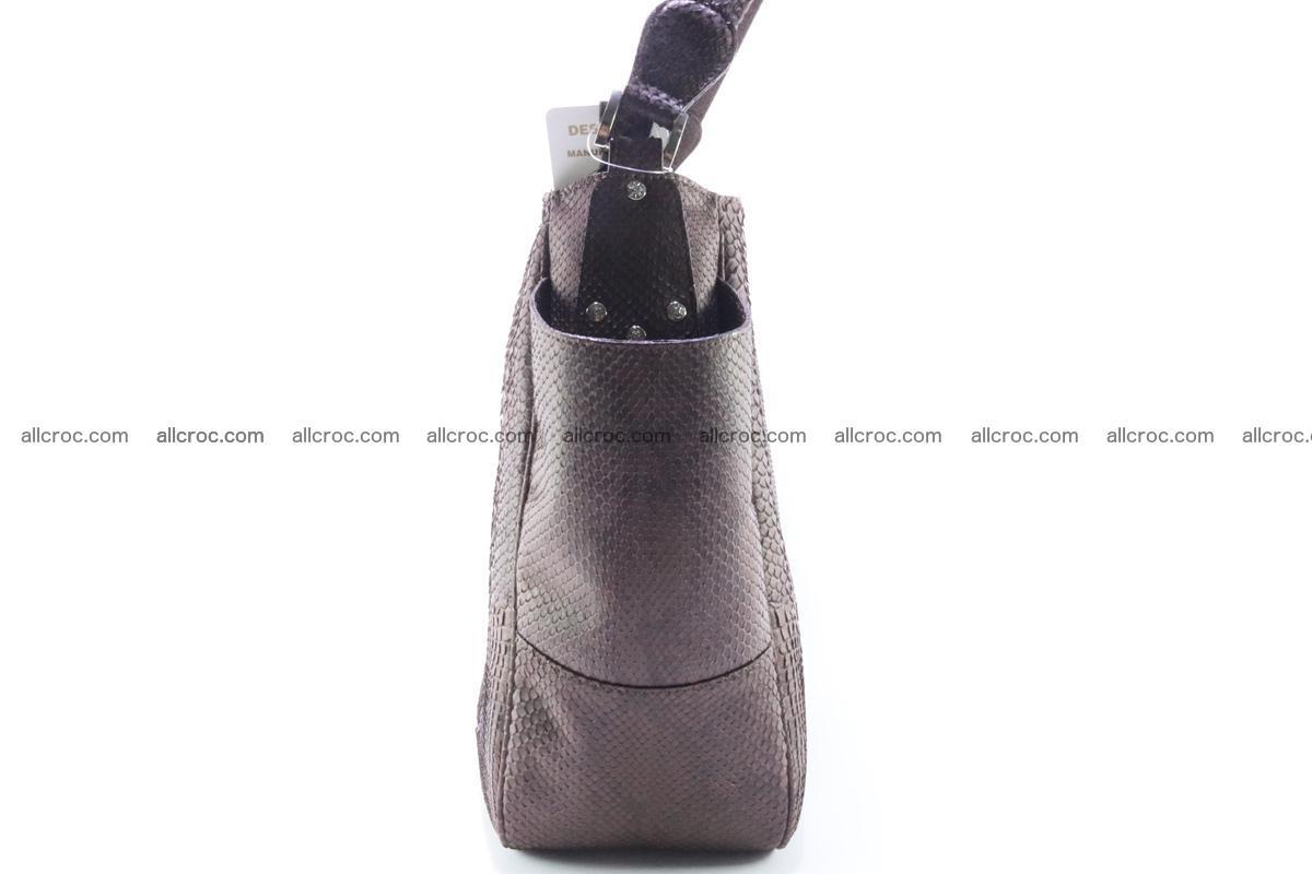 Python skin women handbag 261 Foto 3