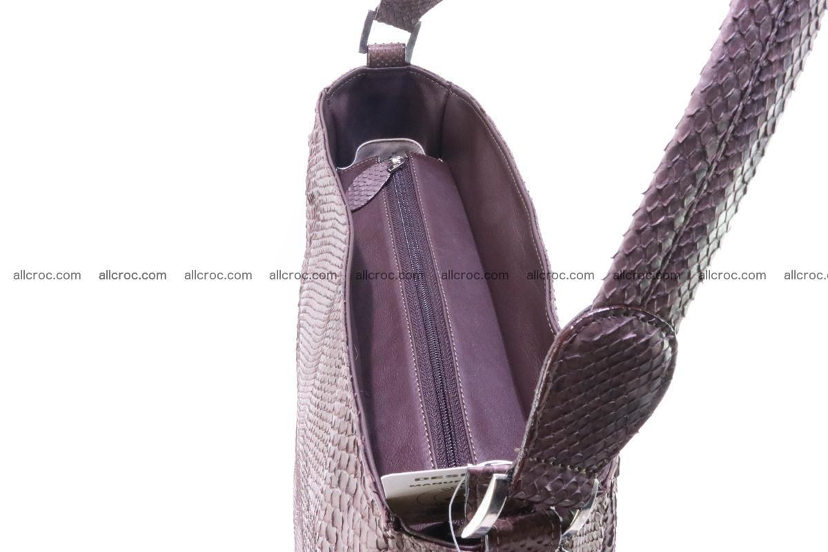 Python skin women handbag 261 Foto 10
