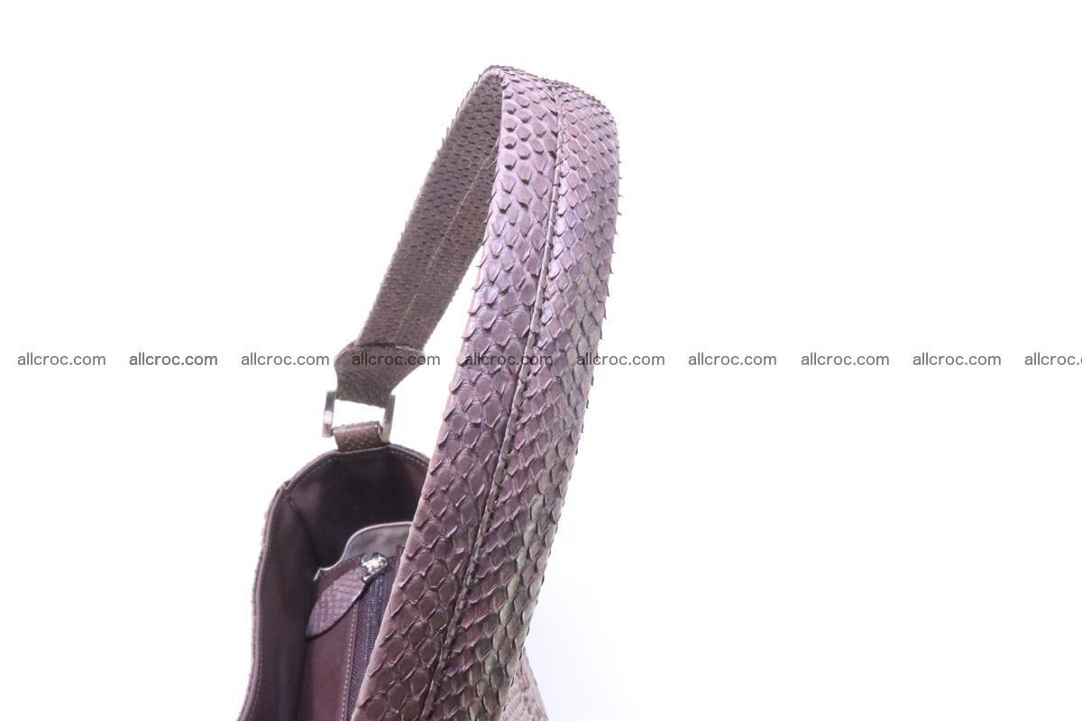 Python skin women handbag 261 Foto 9