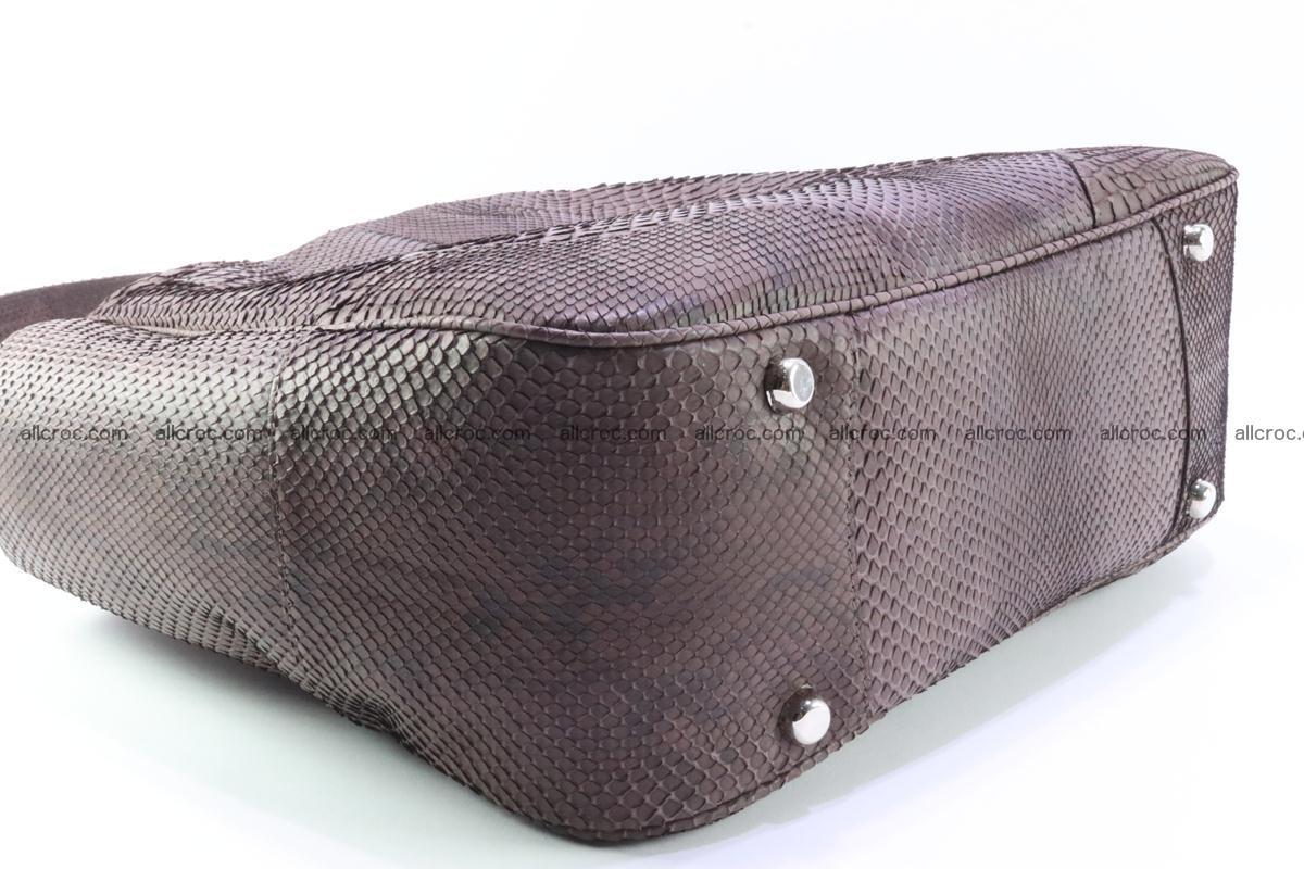 Python skin women handbag 261 Foto 5