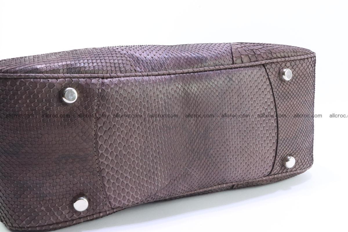 Python skin women handbag 261 Foto 6