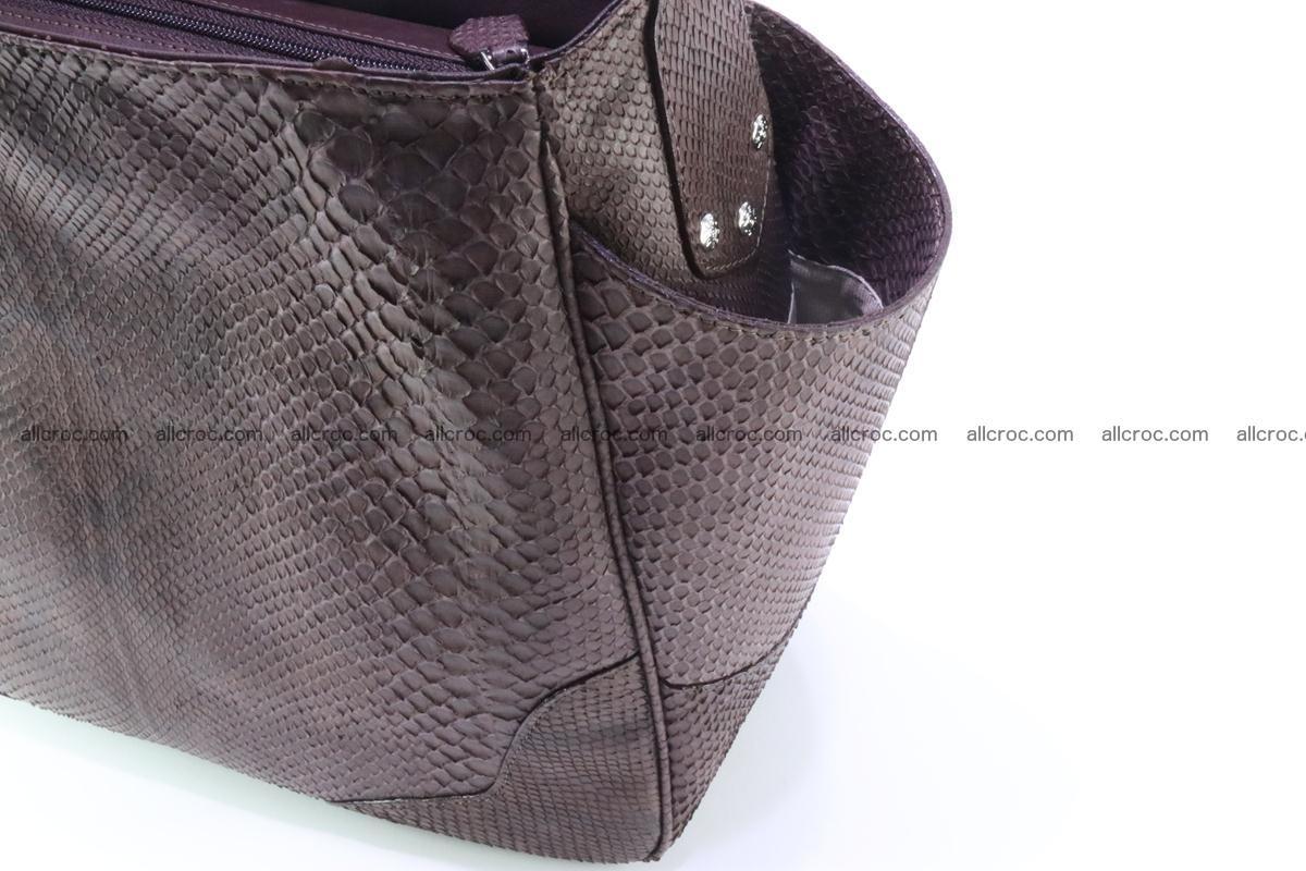 Python skin women handbag 261 Foto 7