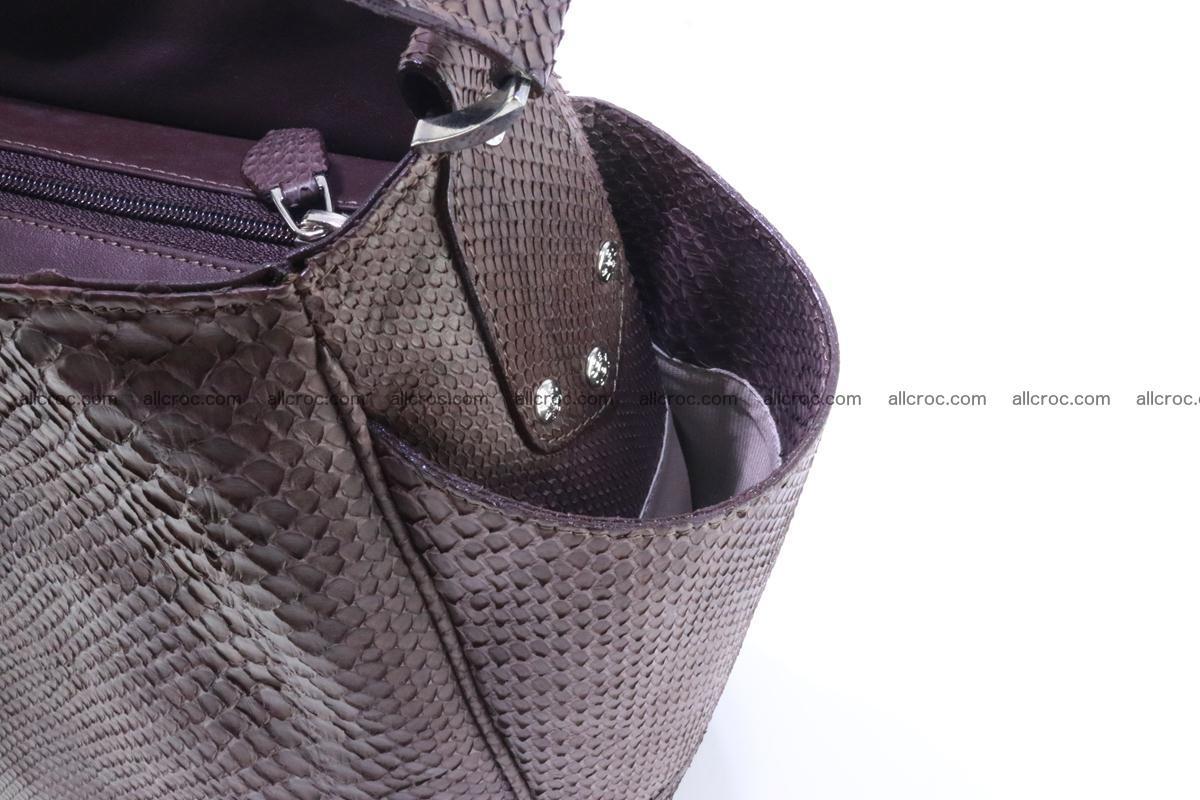 Python skin women handbag 261 Foto 8