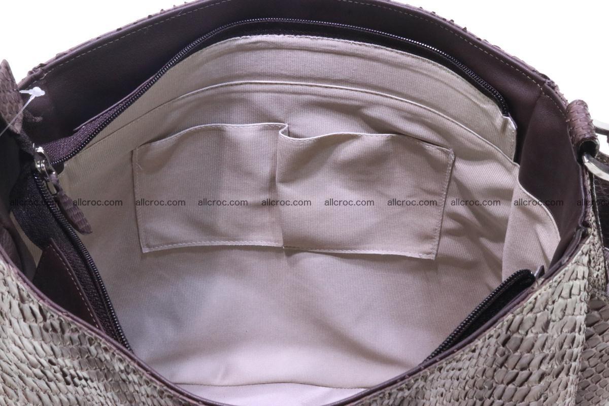 Python skin women handbag 261 Foto 12