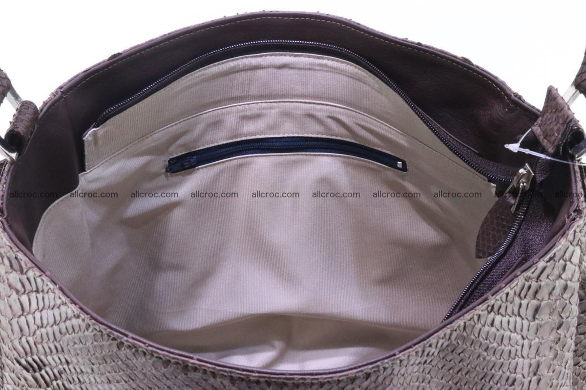 Python skin women handbag 261 Foto 13